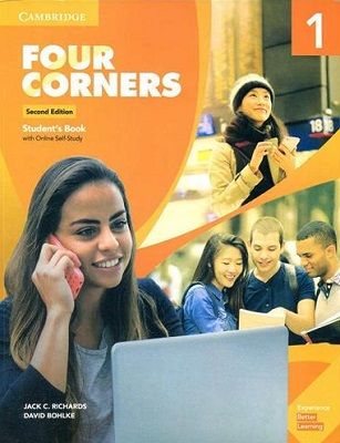 Four Corners 2nd 1 SB+WB+DVD - Glossy Papers