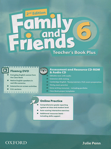Family and Friends 2nd 6 Teachers Book Plus