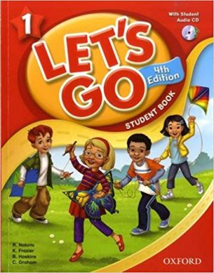 let's go 1 Fourth Edition Student's Book + Workbook