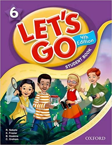 let's go 6 Fourth Edition Student's Book + Workbook