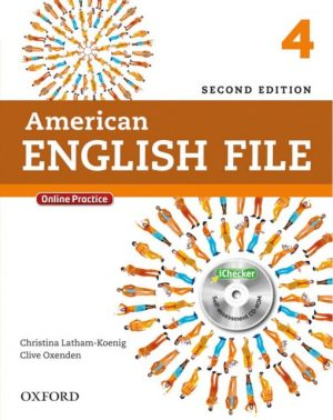 American English File 4 2nd Edition student's book
