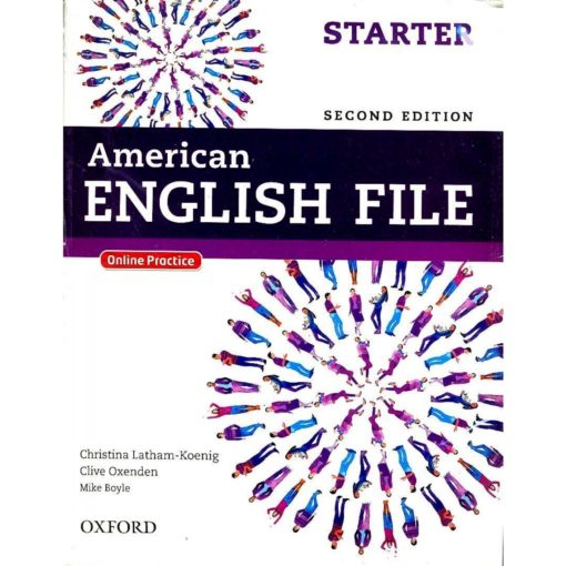 American English File Starter 2nd Edition student's book