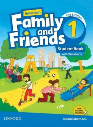 American Family and Friends 1 Student Book with Workbook Second Edition