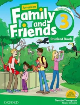 American Family and Friends 3 Second Edition student's book
