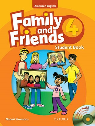 American Family and Friends 4 student's book