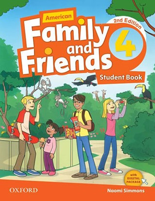 American Family and Friends 4 Second Edition student's book