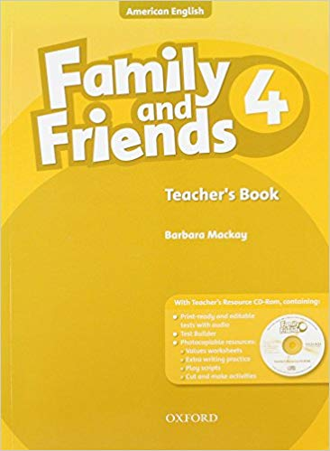 American Family and Friends 4 Teacher book