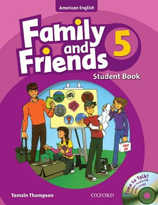 American Family and Friends 5 student's book