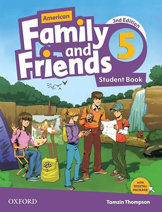 American Family and Friends 5 Second Edition student's book