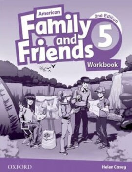 American Family and Friends 5 Second Edition workbook