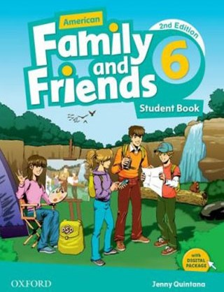 American Family and Friends 6 Second Edition student's book