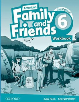American Family and Friends 6 Second Edition workbook