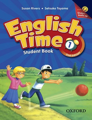 English Time 1 Second Edition student's book