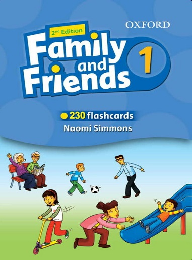 Flashcards Family and Friends 1 Second Edition