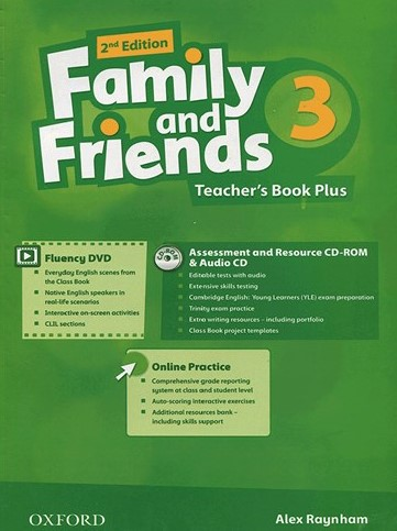 Family and Friends 2nd 3 Teachers Book Plus