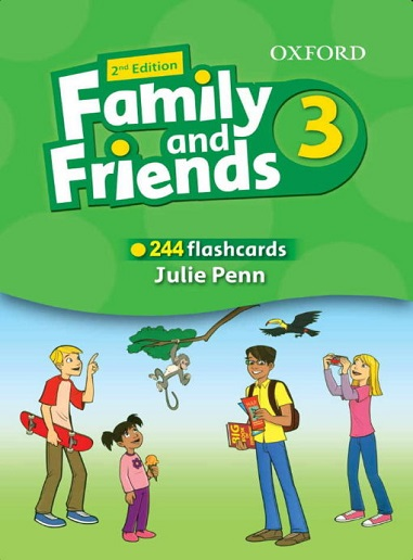 Flashcards Family and Friends 3 Second Edition