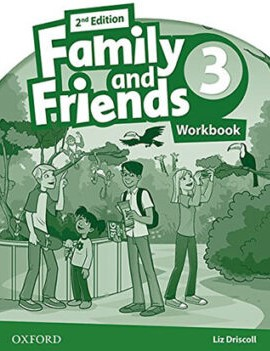 Family and Friends 3 Second Edition workbook