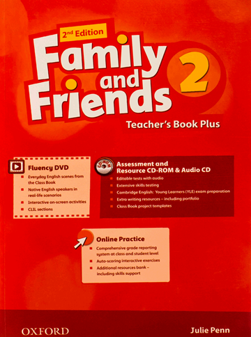 Family and Friends 2nd 2 Teachers Book Plus