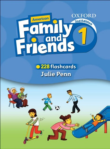 Flashcards American Family and Friends 1 Second Edition