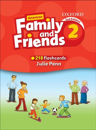 Flashcards American Family and Friends 2 Second Edition