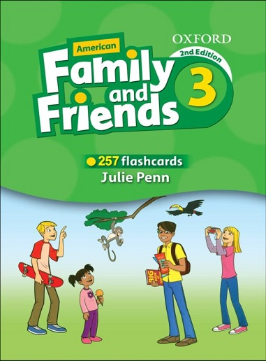 Flashcards American Family and Friends 3 Second Edition