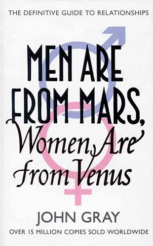 Men Are from Mars Woman Are from Venus