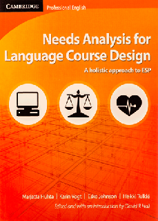Needs Analysis for Language Course Design