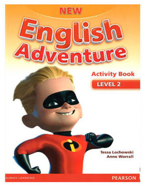 New English Adventure Level 2 activity book