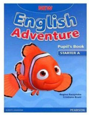 New English Adventure Starter A Pupil's book