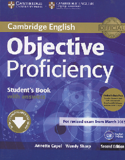 Objective Proficiency students books 2nd Edition