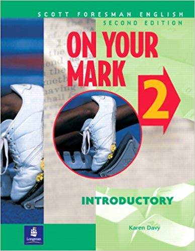 On Your Mark 2 Second Edition student's book