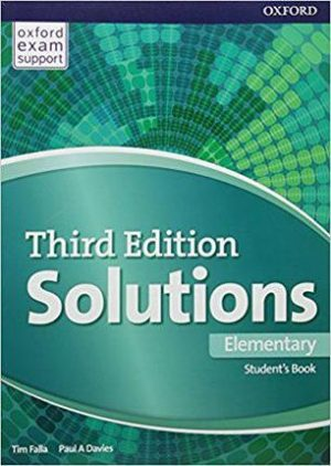 Solutions Elementary 3rd Edition Student's Book