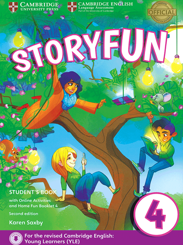 Storyfun for 4 Students Book