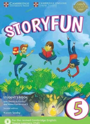 Storyfun2nd 5 Student+Home Fun Booklet+CD