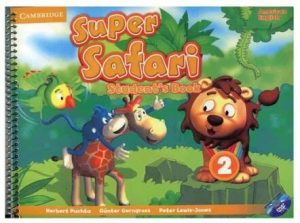 American Super Safari 2 student book
