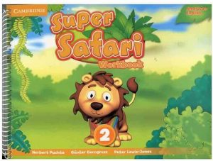 American Super Safari 2 activity book