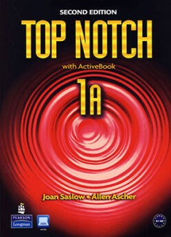 Top Notch 1A Second Edition student's book with workbook