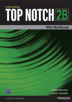 Top Notch 2B Third Edition student's book with workbook