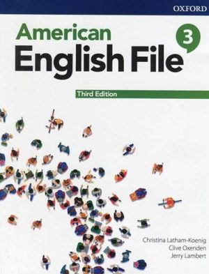 American English File 3rd 3 SB+WB+DVD - Glossy Papers