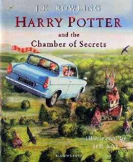 Harry Potter and the Chamber of Secrets - Illustrated Edition Book 2