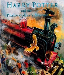 Harry Potter and the Philosophers Stone - Illustrated Edition Book 1