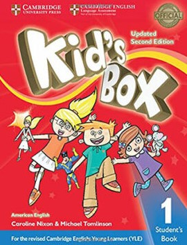 kid's box 1 second edition sstudent's book