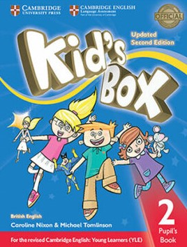 kid's box 2 second edition student's book