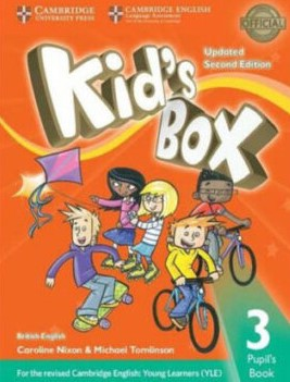 kid's box 3 second edition student's book