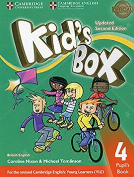 kid's box 4 second edition student's book