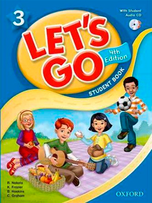 let's go 3 Fourth Edition Student's Book + Workbook